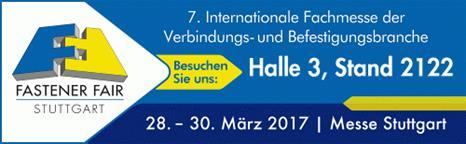Paal: Fastener Fair Stuttgart
